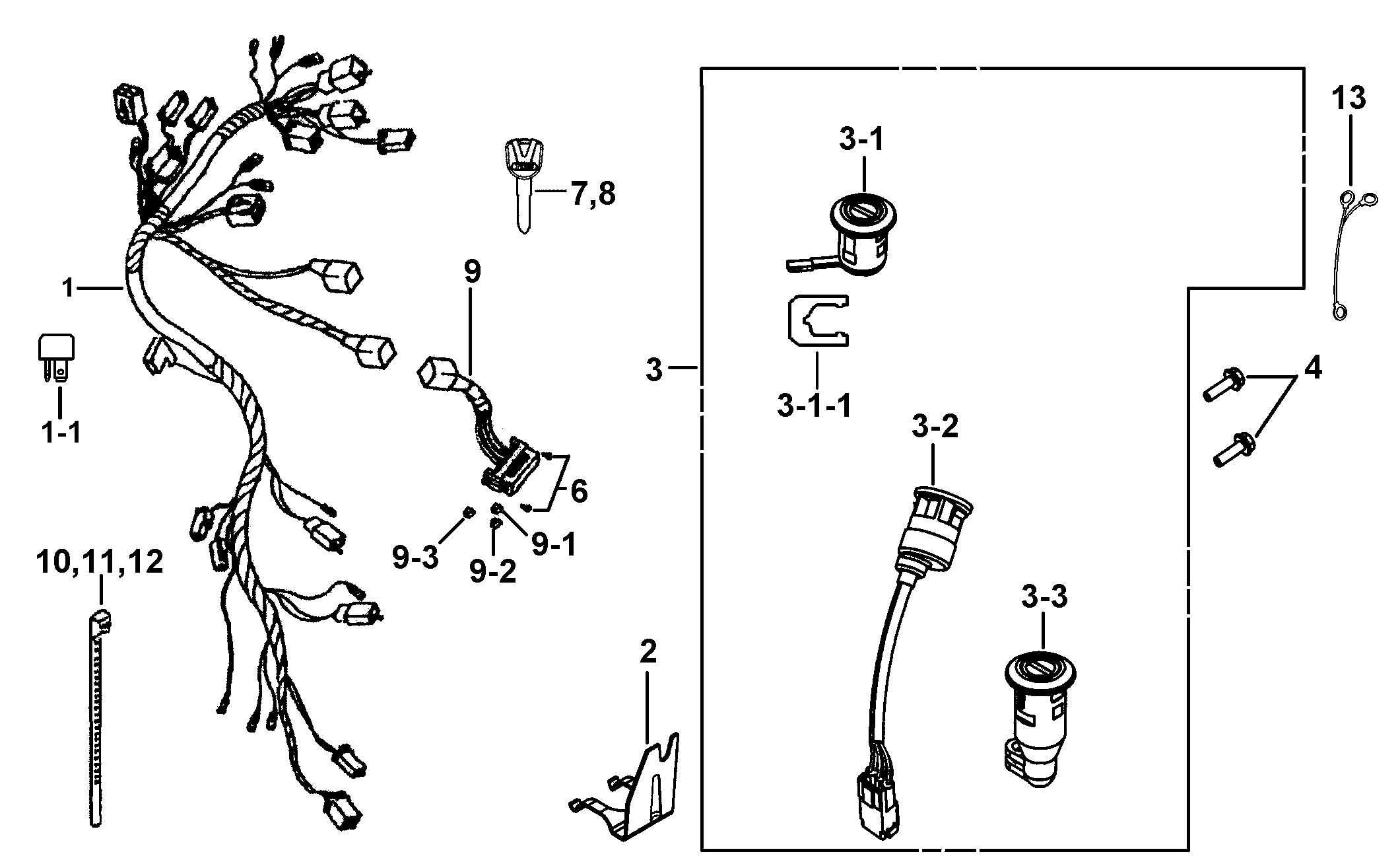tgb wiring schematics 425c 119    wiring    harness locks go4itsales  425c 119    wiring    harness locks go4itsales